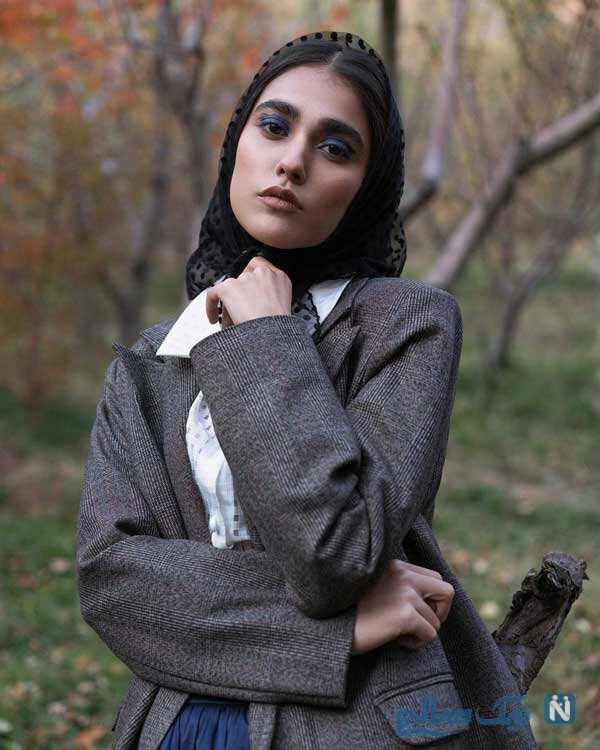 آدرینا صادقی بازیگر سریال احضار