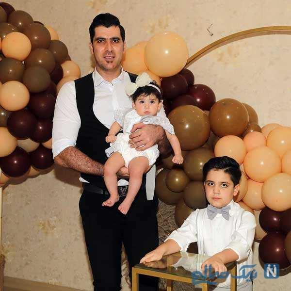 جشن تولد پسر شهرام محمودی