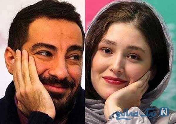 نوید محمدزاده و همسرش تا جشن تولد نیلوفر کوخانی با خاله هانیه غلامی