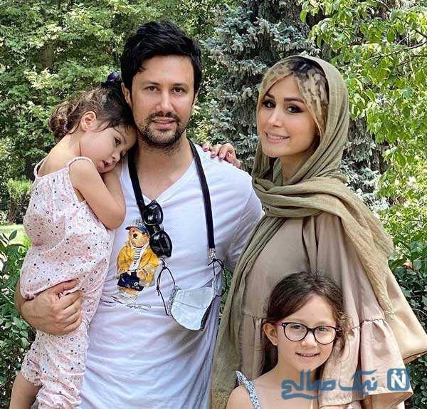 شاهرخ استخری با دخترانش تا تولد ۳ سالگی پسر نیما کرمی و آرزو افشار