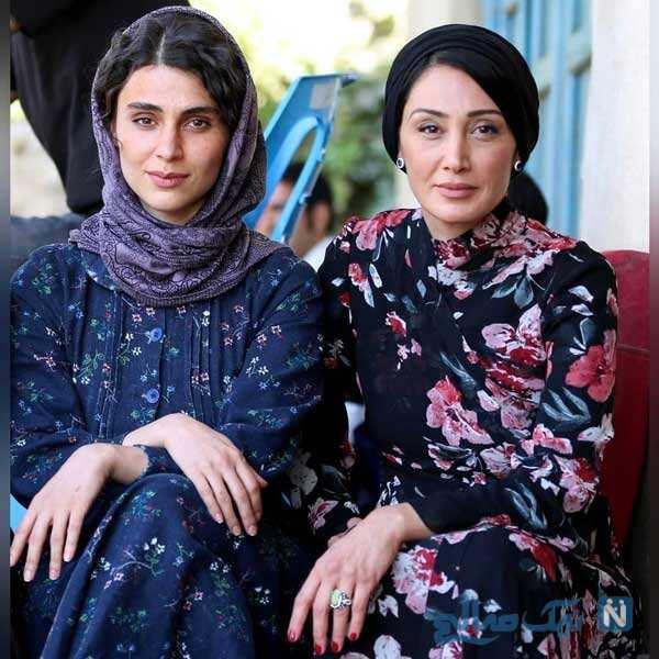 لاله مرزبان و هدیه تهرانی