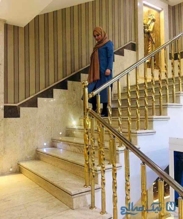 تصویری از خانه صبا راد در ترکیه