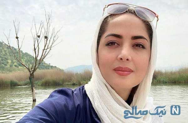 جشن تولد لاکچری لیلا سعیدی مجری تلویزیون که شباهت زیادی به شیلا خداداد دارد