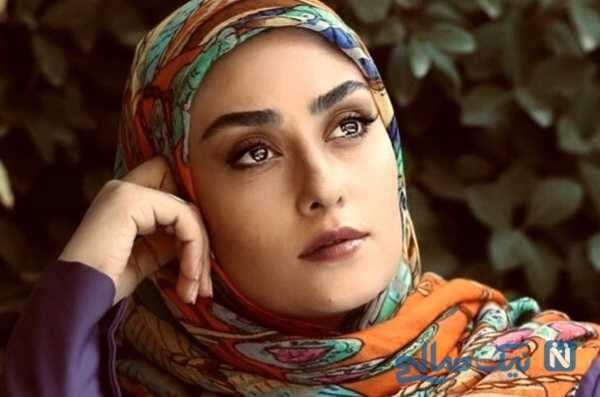 ست سفید لباس الهام طهموری باریگر وارش و همسرش حامد احمدجو