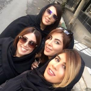 چهره ها در شبکه های اجتماعی (۵۹۰) از سارا بهرامی با موهای قرمز تا عزیزای دل لیلا بلوکات !!!