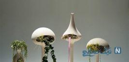 طرح های جذاب از گلدان های هوشمند برای زیبایی خانه شما +تصاویر
