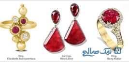 قشنگ ترین جواهرات به رنگ سال