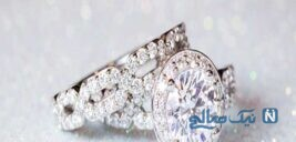 حلقههای رمانتیک عروسی طراح مشهور،لاگرفلد