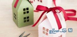 آموزش ساخت کاردستی جعبه کادو طرح خانه