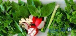 فواید سبزی های سبزی خوردن