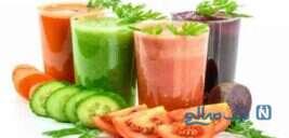 لاغر شدن با آب سبزیجات !