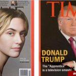 عکس ساختگی ترامپ بر روی جلد مجله تایم