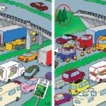 تست هوش تصویری: تفاوت ها را بیابید