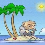 معمای مرد کور در جزیره