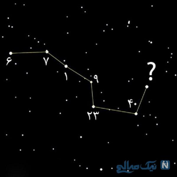 معمای ستاره شب در صورت فلکی