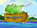 ضرب المثل هرکه با نوح نشیند، چه غم از طوفانش
