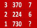 بازی با اعداد ، رابطه منطقی اعداد را بیابید