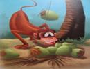 ضرب المثل میمون پیر دستش را داخل نارگیل نمی کند
