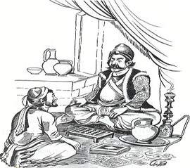 ضرب المثل شاه می بخشد ، شیخ علی خان نمی بخشد
