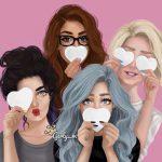 معمای شباهت متفاوت دختران