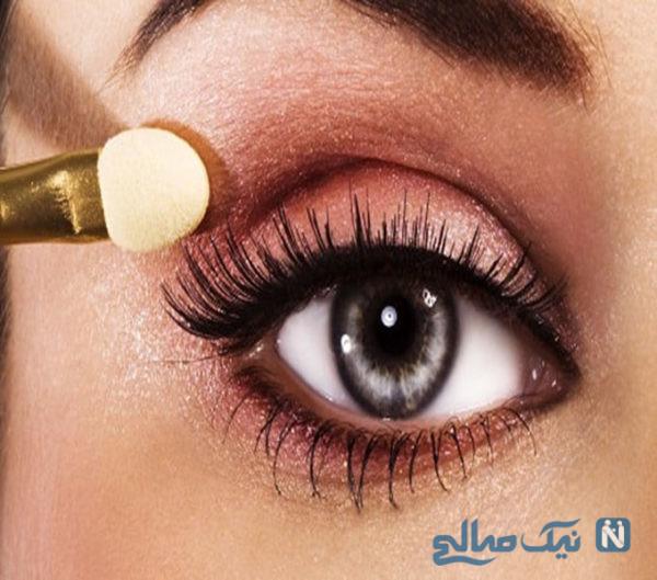 ترکیب رنگ برای سایه چشم