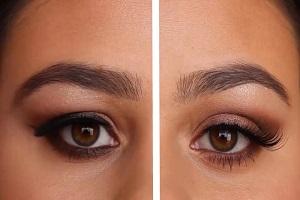 راهنمای آرایش برای کسانی که پلک شان پف دارد