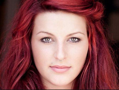 رنگ موهای قرمز