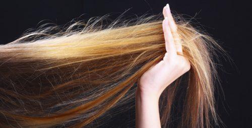 درمان برای موهای شکننده
