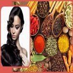 رنگ کردن مو با چای ،قهوه و ادویهجات