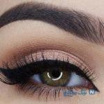 آموزش رنگ سایه ی های مناسب برای چشم های مختلف