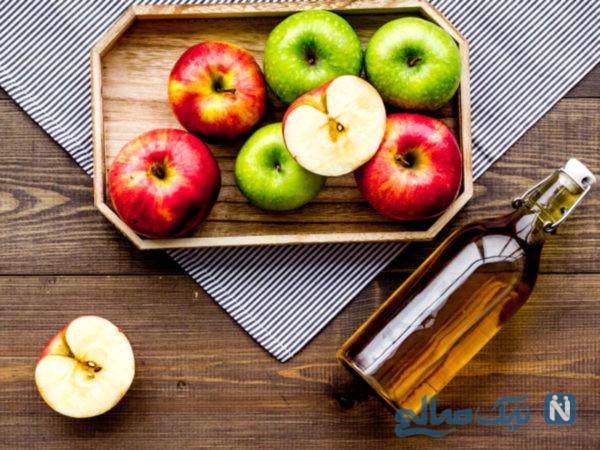 از بین بردن جوش صورت با میوه