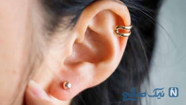 مراقبت های بعد از سوراخ کردن گوش