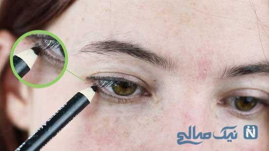 یک جایگزین ملایم و کمرنگ به جای خط چشم