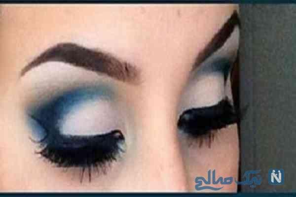عکس: این ارایش چشم در فیسبوک لقب جذاب ترین چشم را گرفت!