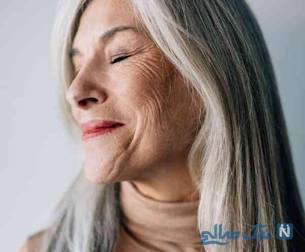 رفع پیری با آرایش