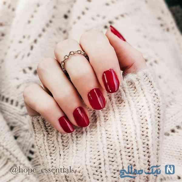 رنگ لاک در زمستان