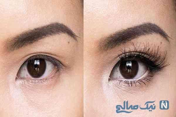 چشم را به درشت ترین حالت ممکن آرایش کنید