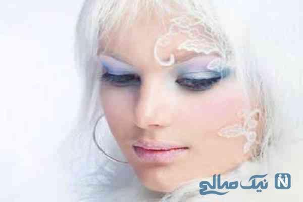 مدل های آرایشی بسیار زیبا و چشم نواز مخصوص زمستان