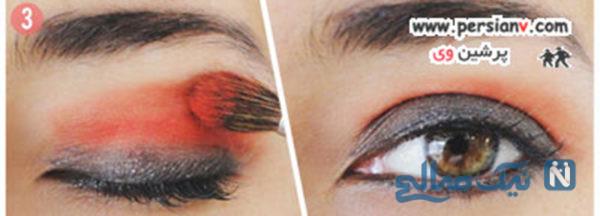 سایه قرمز چشم