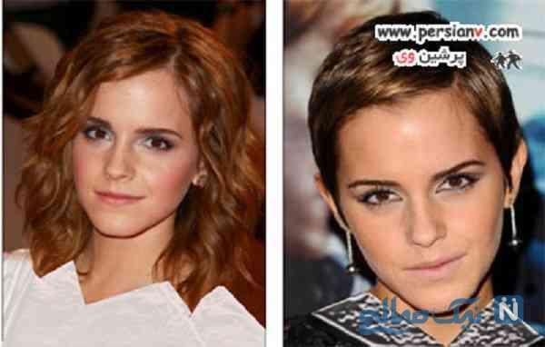 تغییر بعد از کوتاهی مو