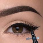 طریقه کشیدن صحیح خط چشم !