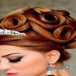 جدیدترین مدل موی عروس + تصاویر زیبا