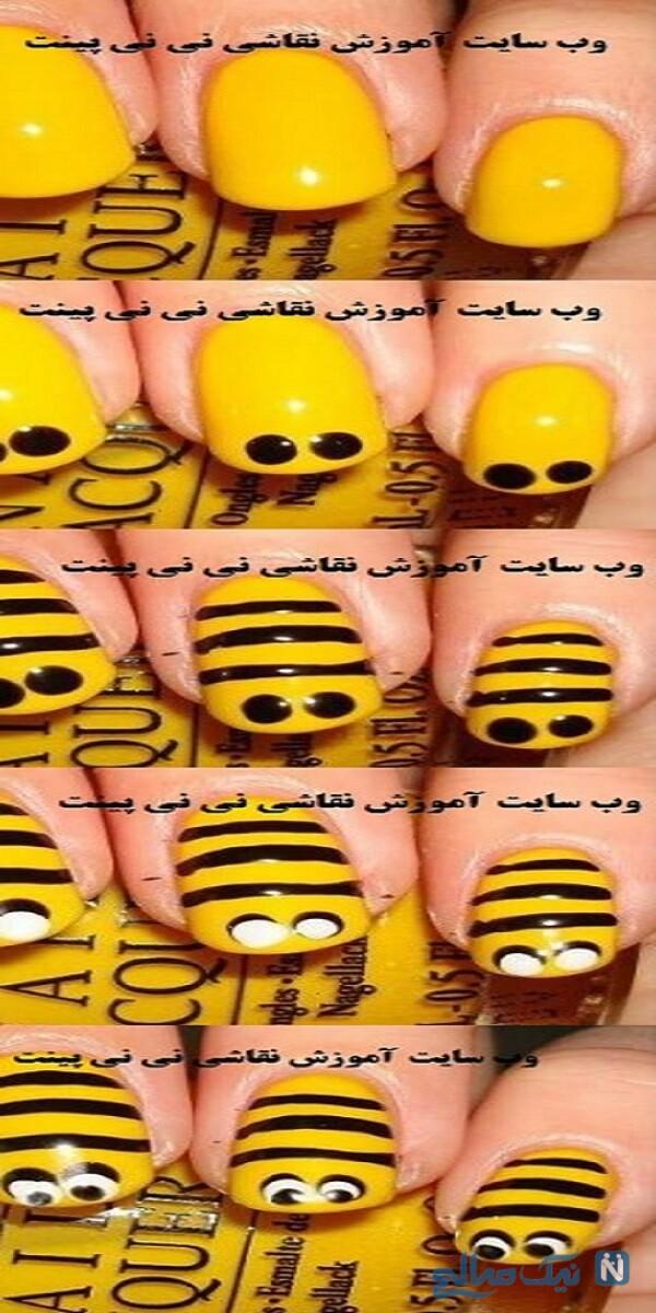 لاک طرح زنبوری