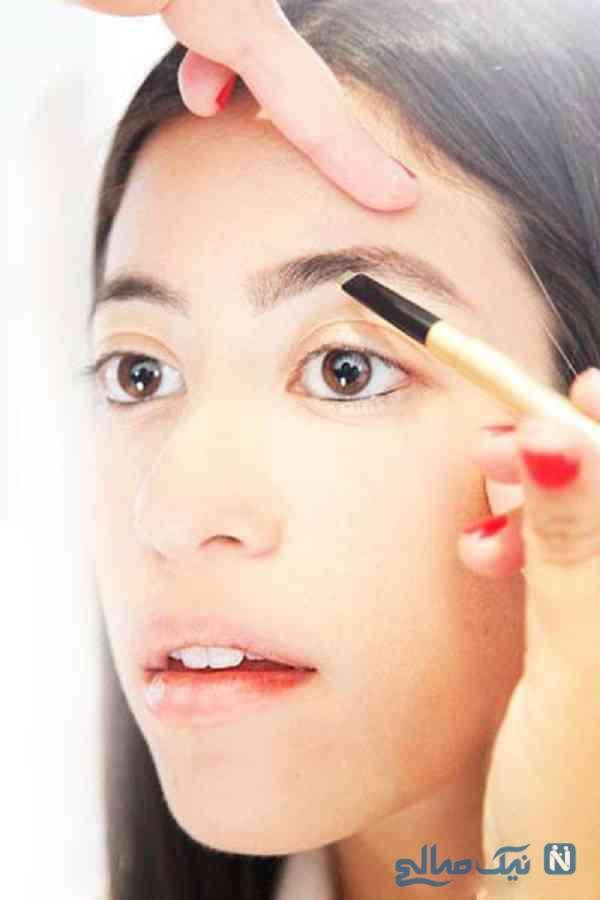 آرایش حرفه ای ابرو