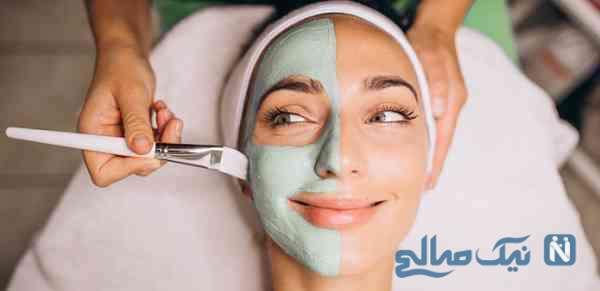 زیبایی با ماسک طبیعی صورت