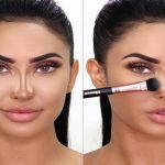 چطور با آرایش بینی خود را کوچک جلوه دهیم؟+عکس