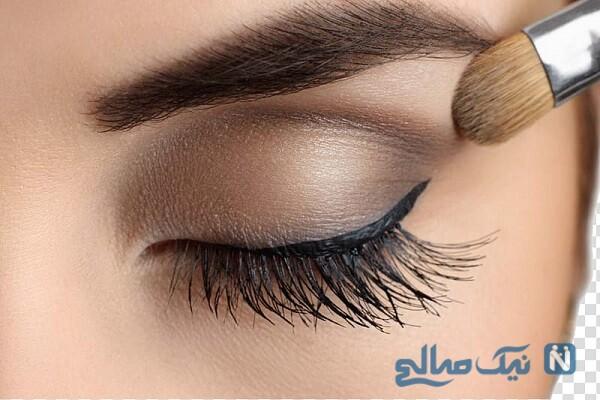 روش صحیح آرایش چشم و ابرو را بدانید +تصاویر