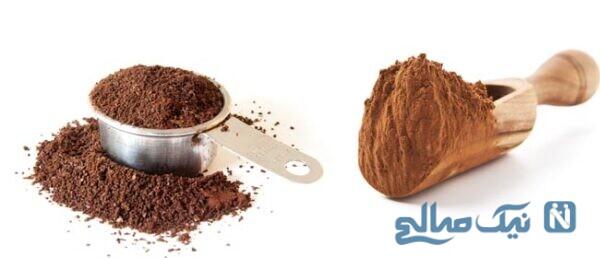 ماسک کاکائو و قهوه