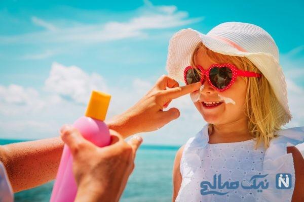 ضد آفتاب و لک صورت