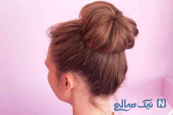 حجم دادن به موهای کم پشت برای مدل مو گوجه ای